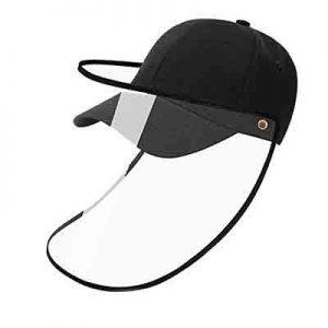 gorra con pantalla