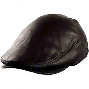gorra cuero